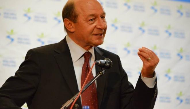 Foto: Traian Băsescu: Ionuţ Mişa este doar o victimă. Artizanii acestui dezastru se numesc Dragnea, Vâlcov, Vasilescu