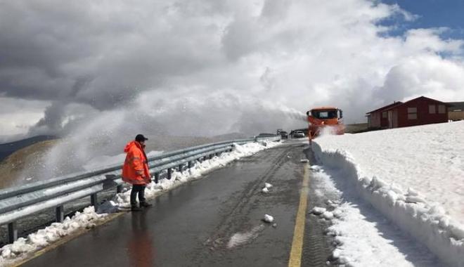 Foto: Veşti bune! Transalpina se redeschide traficului auto