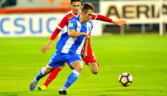Foto: Transferul anului în fotbalul românesc. 1,3 milioane de euro pentru un fundaş