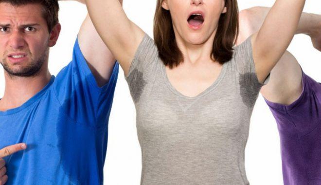 Foto: Nu lăsaţi transpiraţia abundentă să vă afecteze încrederea în sine!
