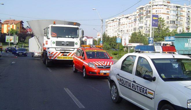 Foto: Transport agabaritic pe ruta Constanța - Craiova