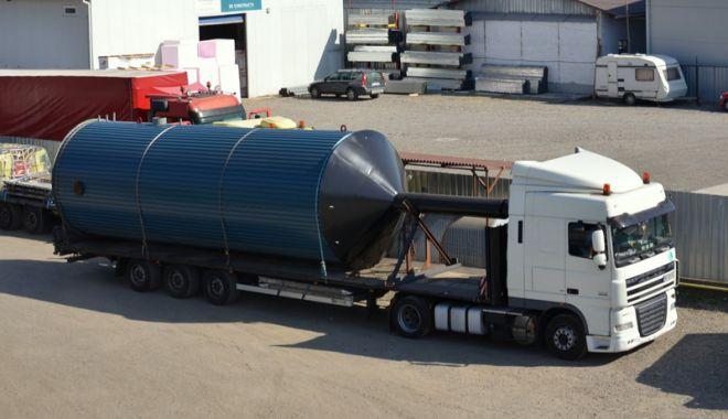 Foto: Transporturi agabaritice la Constanța,  în această săptămână