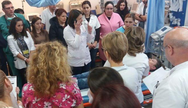 Foto: Tratament salvator la Spitalul de Urgenţă Constanţa!