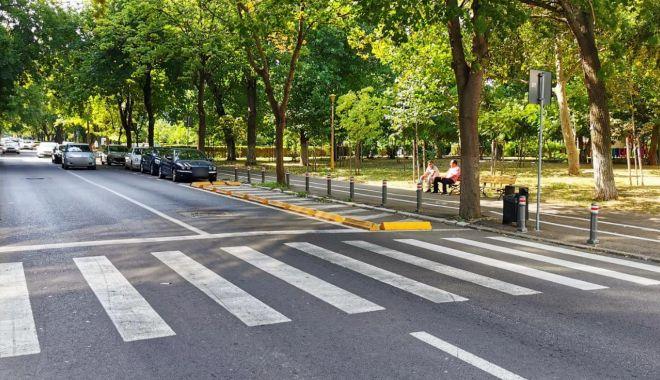 Modificări în traficul din centrul Constanței. Trecere de pietoni desfiinţată pe strada Mircea cel Bătrân - treceredepietoni3-1627652482.jpg