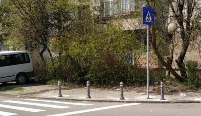 Foto: Două noi treceri de pietoni, la Constanţa