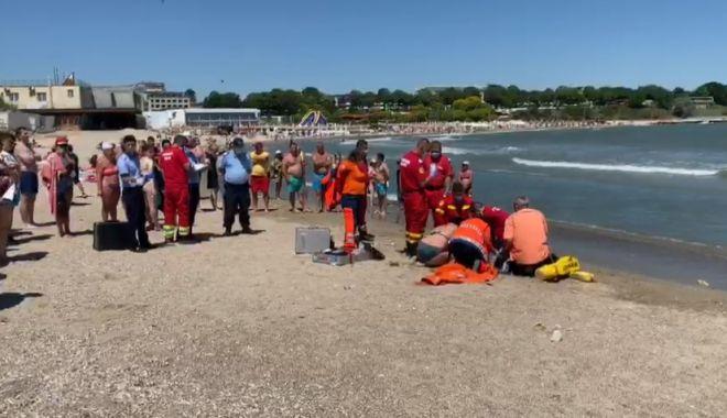 Foto: Tragedie pe litoral. Bărbat din Cluj, mort pe plajă în Mangalia