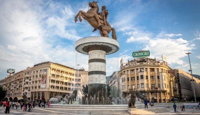 Foto: Trei lideri occidentali importanţi vizitează succesiv Macedonia