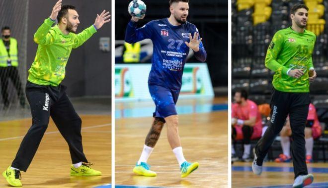 Trei handbalişti de la HC Dobrogea Sud, convocaţi la naţională pentru meciul cu Suedia - trei-1618582589.jpg