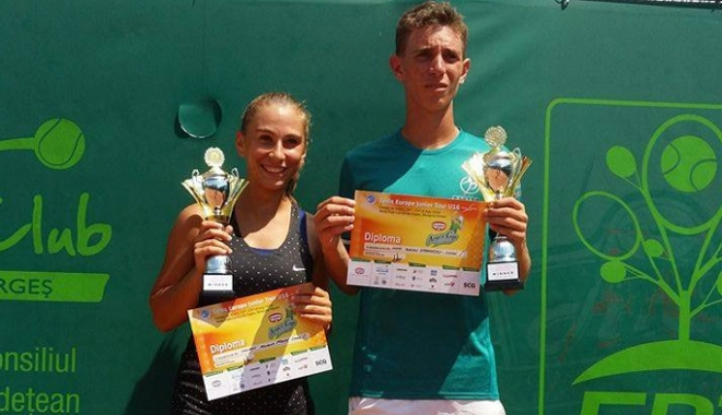 Foto: Trei finale în două săptămâni pentru jucătoarea de tenis Roxana Manu