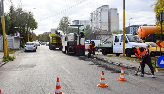 Foto: Atenţie, şoferi!  Trei străzi din Constanţa,  închise circulaţiei