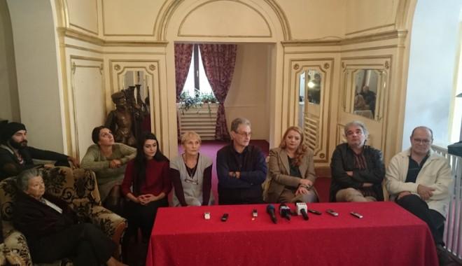 Foto: Teatrul de Stat se pregăteşte de o premieră cehoviană