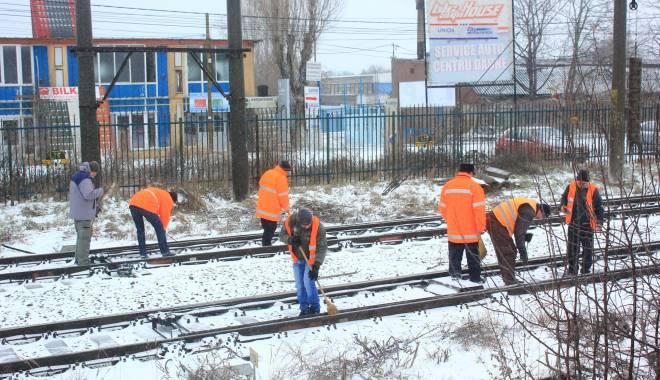 Foto: CFR Călători. 32 de trenuri anulate astăzi, la Constanţa