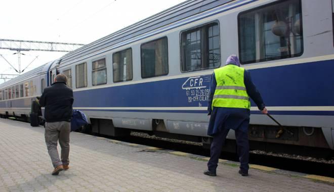 Foto: Opt trenuri pe ruta Constanţa - Mangalia, anulate