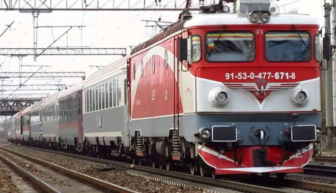 Foto: Trenurile de pe ruta Constanța - Mangalia circulă după un alt program