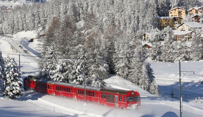 Foto: Distracţia continuă! Reduceri de preţ la Trenurile Zăpezii 2018