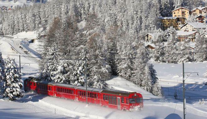 Foto: Până când circulă Trenurile Zăpezii