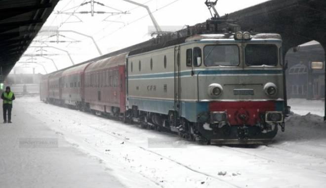 Foto: Anunţ de la CFR Călători. Modificări pe ruta Constanţa - Bucureşti