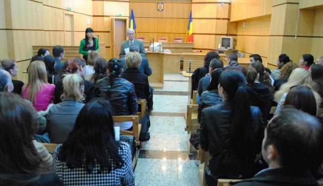 Foto: Tribunalul Constanţa, locul 7 pe ţară, în lupta împotriva contrabandei