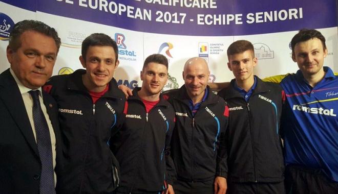 Foto: Tricolorii, calificare fără emoţii la Campionatul European 2017