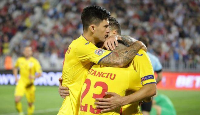 Foto: Tricolorii  au urcat o poziţie  în clasamentul FIFA