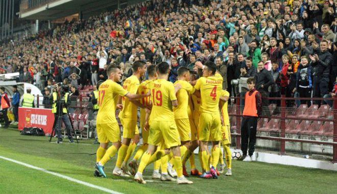 Foto: Tricolorii mici, amical cu Belgia