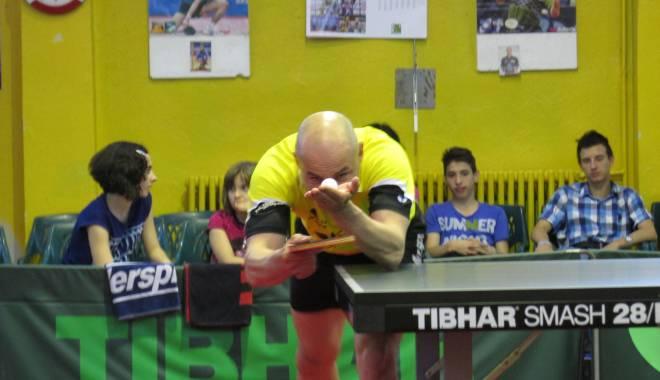 """Foto: Tenis de masă: """"Tricolorii"""", pe locul 15 la Campionatele Europene din Rusia"""