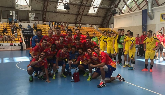 Foto: Spania a câştigat Trofeul Carpaţi, la handbal masculin