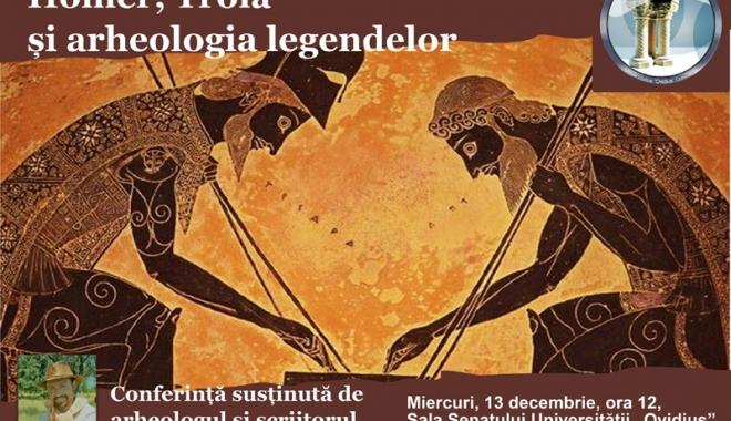 Foto: Cătălin Pavel îi aduce pe Homer şi Troia la Constanţa
