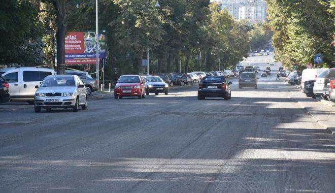 Foto: GALERIE FOTO. Trotuarele de pe bulevardul Tomis, refăcute