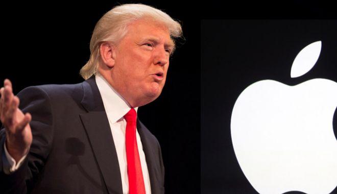Foto: Donald Trump  cere Apple  să îşi transfere producţia din China  în Statele Unite