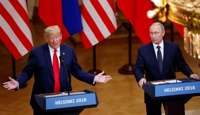 Foto: Trump şi Putin s-ar putea întâlni din nou la Helsinki, anul viitor