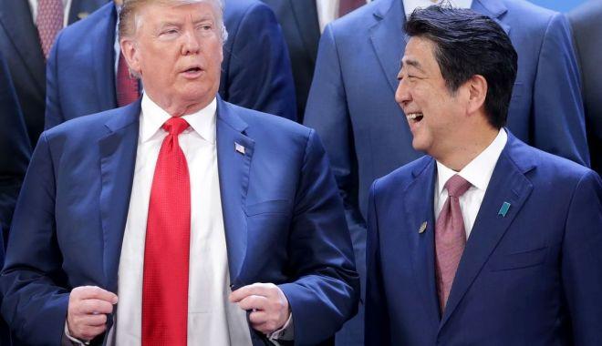 Foto: Trump evocă mari progrese în negocierile comerciale americano-nipone