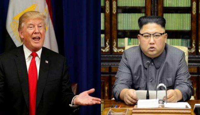 Foto: Trump și Kim au stabilit  ca fiecare să viziteze  țara celuilalt