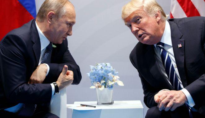 Foto: Vladimir Putin, pregătit pentru o întâlnire cu Donald Trump