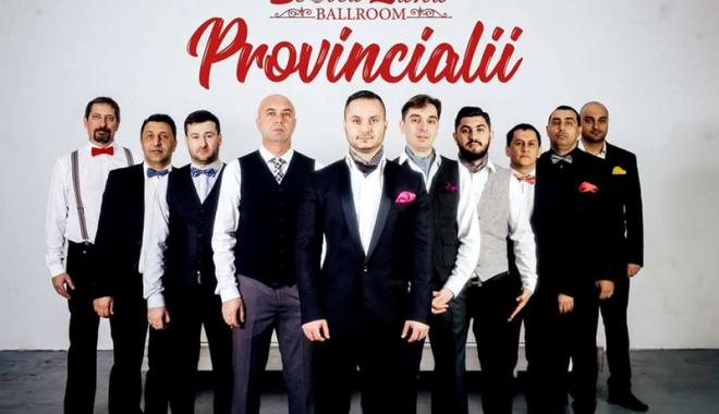 Foto: Trupa Provincialii, concert la Constanţa, pe 2 decembrie