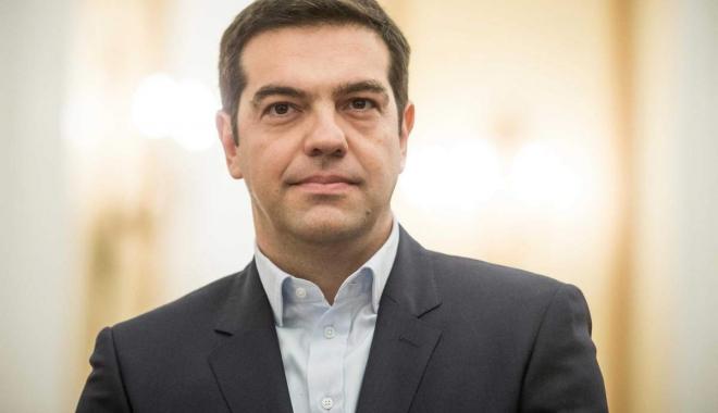 Foto: Alexis Tsipras, mesaj către FMI şi Angela Merkel: