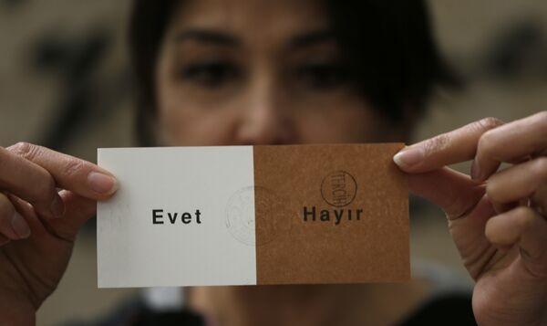 Foto: Referendum în Turcia. Primele rezultate parţiale. Tabăra pro-Erdogan obţine 63% din voturi