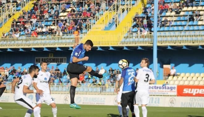 Foto: Ţucudean, gol de trei puncte. FC Viitorul câştigă la Mediaş şi revine pe un loc de play-off