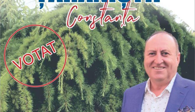 """Foto: Candidatul Tudorel Chesoi, de la Alianţa Naţional Ţărănistă: """"La mine vorbesc faptele!"""""""