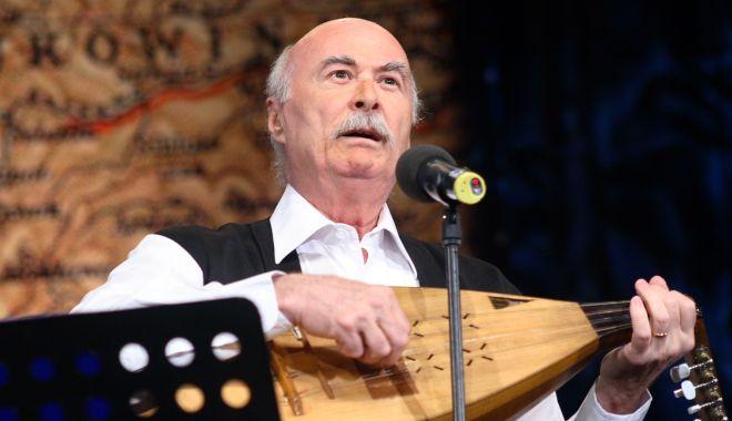 Foto: Spectacol de zile mari! Tudor Gheorghe, în concert la Casa de Cultură