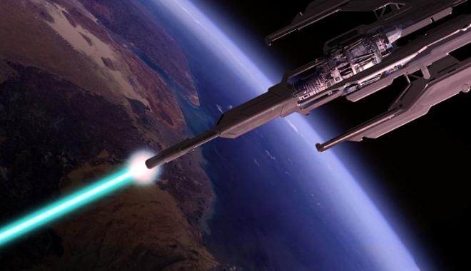 Foto: Tunul spaţial românesc care apără planeta de asteroizi va fi prezentat la Geneva