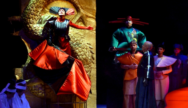"""Foto: """"Turandot"""", într-o distribuţie internaţională de excepţie"""