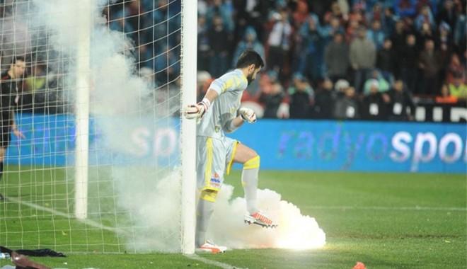 Foto: Şase meciuri cu porţile închise pentru Trabzonspor, ca urmare a incidentelor de luni