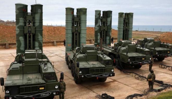 Foto: Turcia nu va renunţa la achiziţia de rachete S-400 din Rusia