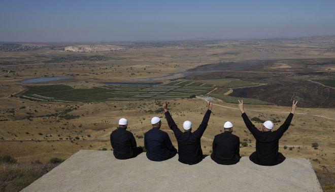 Foto: Turcia va sesiza Naţiunile Unite în legătură cu problema Înălţimilor Golan