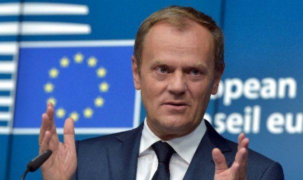 Foto: MOMENT ISTORIC! Donald Tusk, președintele Consiliului European, discurs în limba română