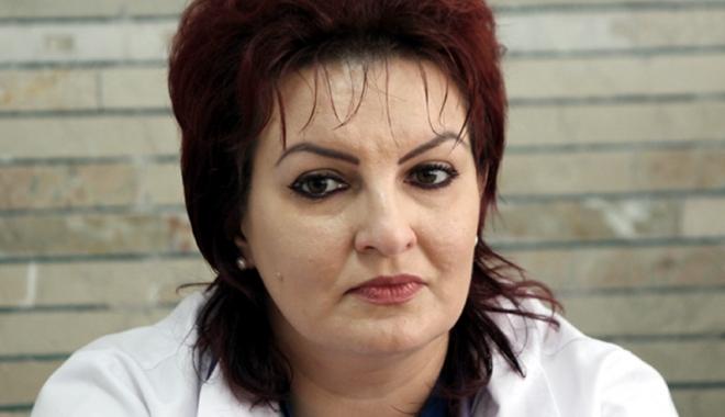 Foto: Dr. Liliana Tuţă, noul preşedinte al Societăţii de Nefrologie