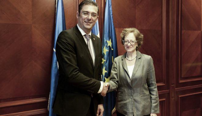 Foto: Ambasadorul Austriei, întâlnire cu liderul CJC Horia Țuțuianu