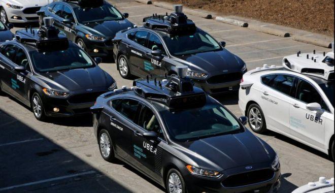 Foto: Premieră nefericită: o maşină autonomă a Uber a lovit mortal un pieton
