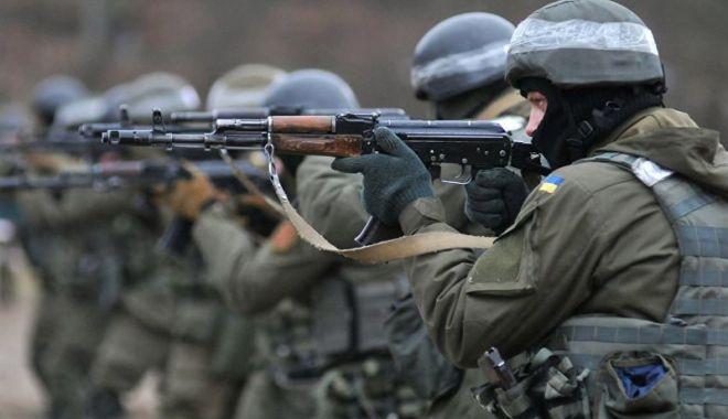 Foto: Ucraina  lansează exerciţii militare comune cu NATO  în vestul ţării